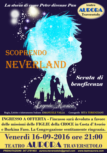 SCOPRENDO NEVERLAND