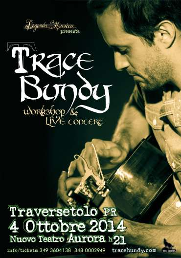 Trace Bundy Live concert & Workshop