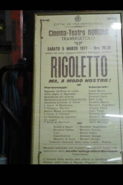 Locandina Rigoletto 1977